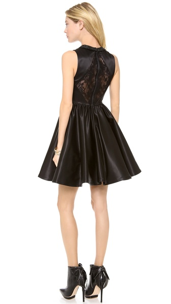 alice + olivia Lollie Peter Pan Collar Dress