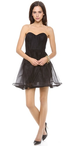 alice + olivia Landi Pouf Dress at Shopbop / East Dane