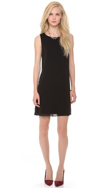 alice + olivia Bow Back Trina Dress