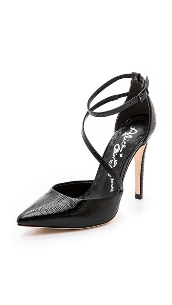 Alice + Olivia Delia Pumps - Black at Shopbop / East Dane
