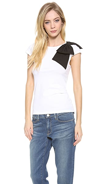 alice + olivia Grody Side Bow Top