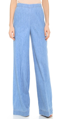 alice + olivia High Waisted Wide Leg Pants at Shopbop / East Dane