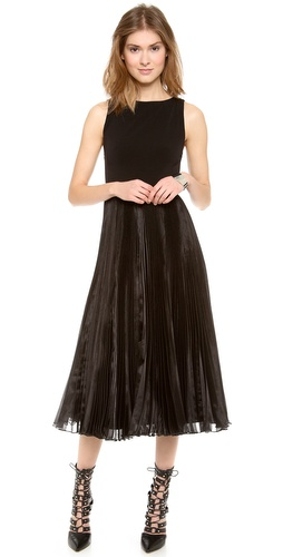alice + olivia Veena Pleated Dress at Shopbop / East Dane