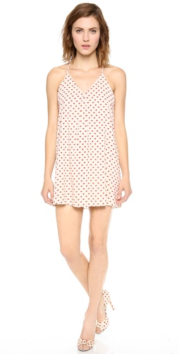 alice + olivia Heart Print Fierra Dress at Shopbop / East Dane