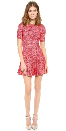 alice + olivia Perry 3/4 Sleeve Flare Dress at Shopbop / East Dane