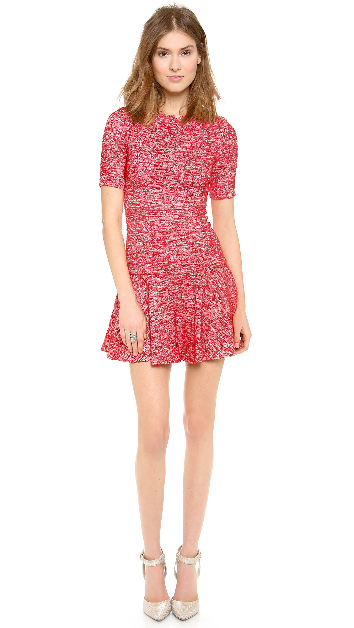 alice + olivia Perry 3/4 Sleeve Flare Dress | Fancy Friday - Valentine's Day Dresses