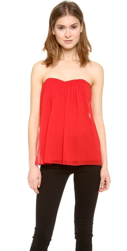 alice + olivia Kenley Strapless Top at Shopbop / East Dane