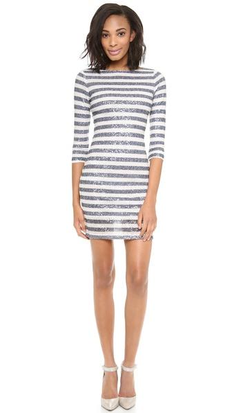 alice + olivia Pammy Sequined Dress
