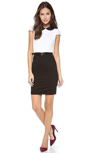 alice + olivia Mariette Combo Dress