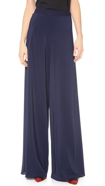 alice + olivia Super Flared Wide Leg Pants