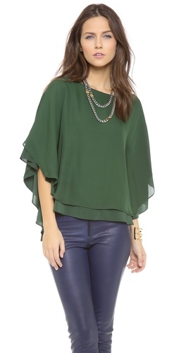 alice + olivia Hampton Top at Shopbop / East Dane