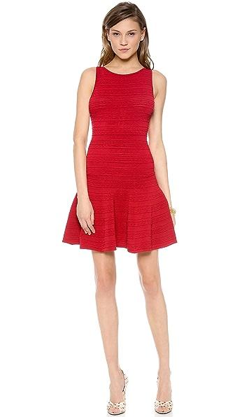 alice + olivia Lucky Drop Waist Sweater Dress
