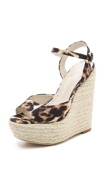Alice + Olivia Stella Espadrille Wedges - Natural at Shopbop / East Dane