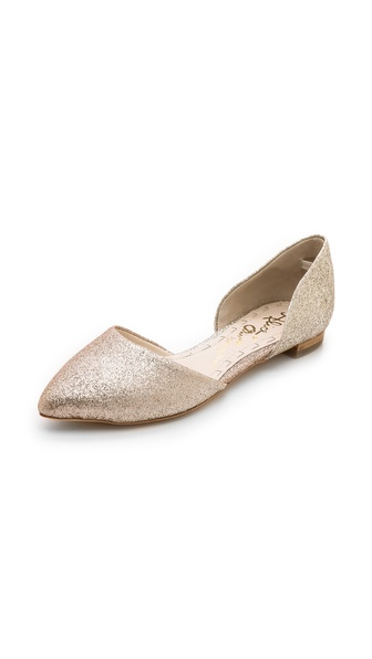 Alice + Olivia Hilary D'Orsay Flats - Pale Gold Ombre at Shopbop / East Dane