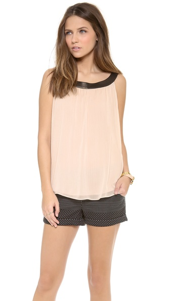alice + olivia Antonia Gathered Top