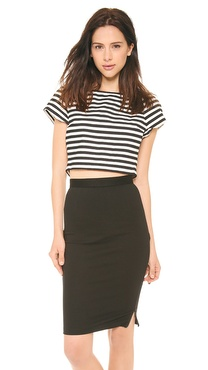 alice + olivia Connelly Crop Top