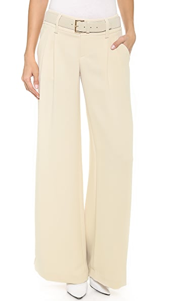 alice + olivia Pleated Eric Pants