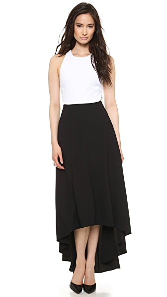 alice + olivia Racer Back Maxi Dress