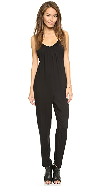 alice + olivia Marline Gathered Jumpsuit