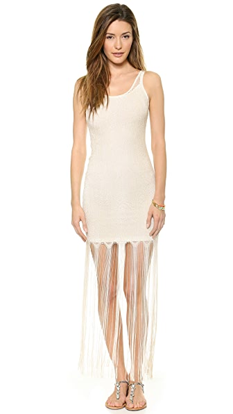 alice + olivia Lena Crochet Dress