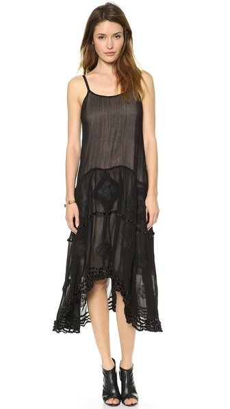 alice + olivia Dejas Embroidered Dress