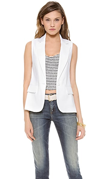 alice + olivia Lorelei Single Button Vest