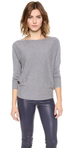 alice + olivia Cash Air Boatneck Sweater at Shopbop / East Dane