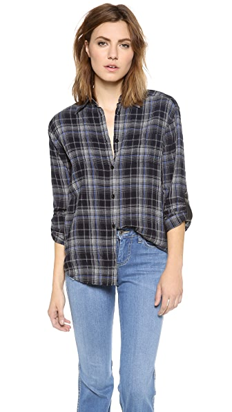 alice + olivia Piper Button Down Shirt