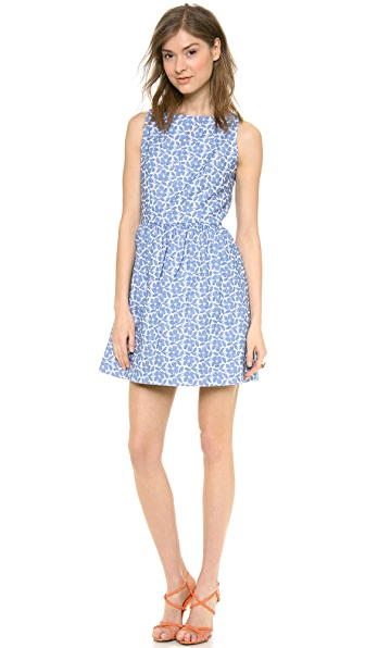alice + olivia Lillyanne Puff Skirt Dress