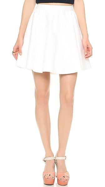 alice + olivia Laine Gathered Skirt
