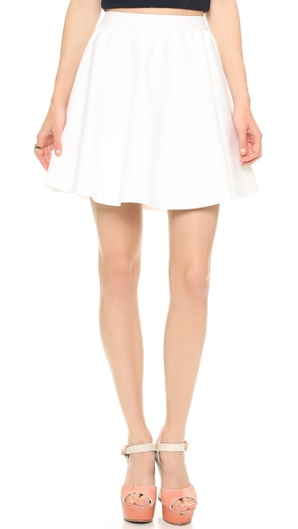 alice + olivia Laine Gathered Skirt