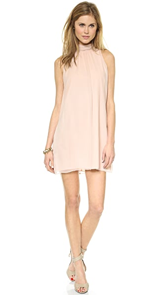 alice + olivia Rhiannon Mock Neck Dress