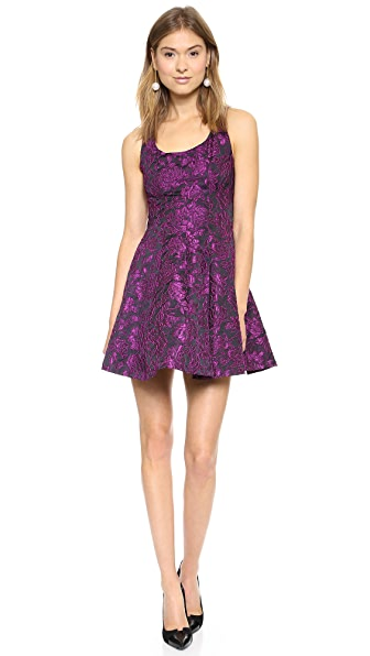 alice + olivia Solaris Fit and Flare Dress