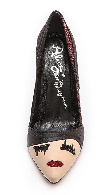 alice + olivia Stacey Wink 浅口鞋