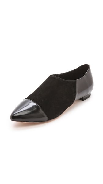 alice + olivia Hailey Cap Toe Flats