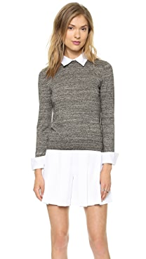 alice + olivia Fitted Collar Sweater