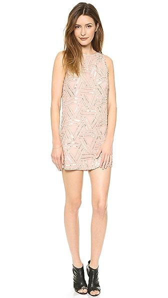 alice + olivia Elliot Embellished Dress
