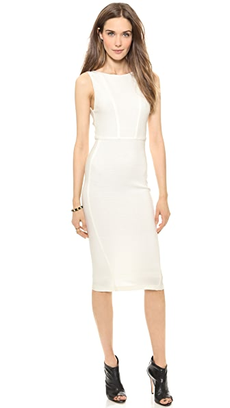 alice + olivia Demi Detail Fittted Dress