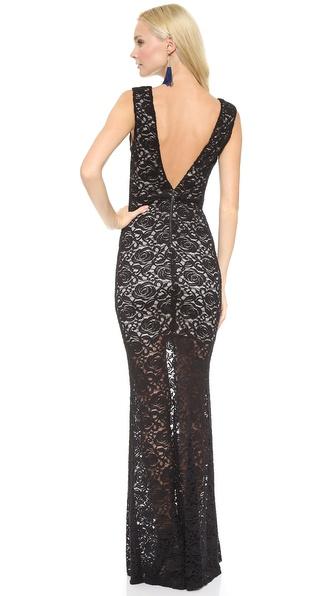 alice + olivia Mia Maxi Dress