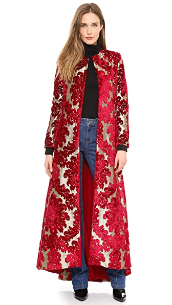 alice + olivia Queens Floor Length Coat