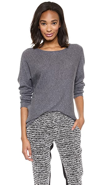 alice + olivia Boat Neck Slouchy Sweater