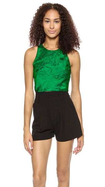 alice + olivia Keston Crop Top