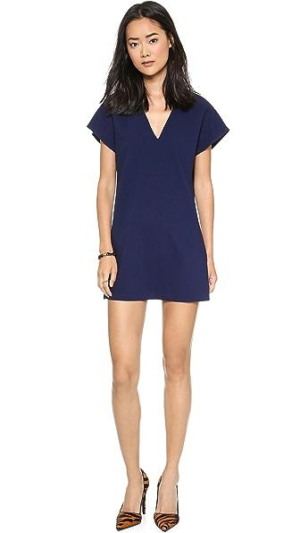 alice + olivia Bema V Neck Tunic Dress