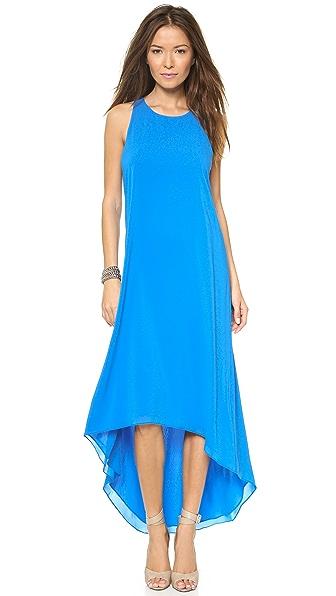alice + olivia Back Twist Keyhole Dress