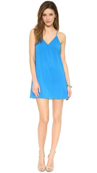 alice + olivia Fierra Y Back Dress