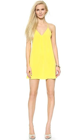 Kupi alice + olivia haljinu online i raspordaja za kupiti Alice + Olivia Fierra Dress Lemon online