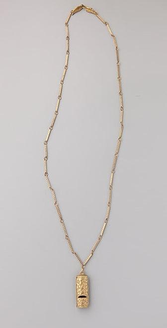 Alkemie Jewelry Whistle Necklace
