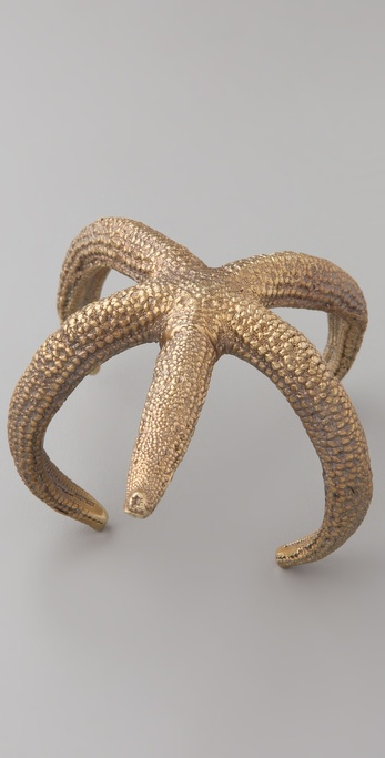 Alkemie Jewelry Delicate Starfish Cuff
