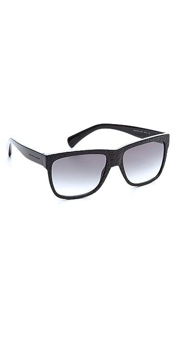 Alexander McQueen Textured Sunglasses