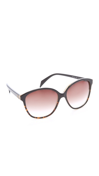 Alexander McQueen Oversized Glam Cat Eye Sunglasses